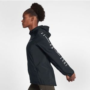 Nike Essential Just Do It Hooded Running Jacket